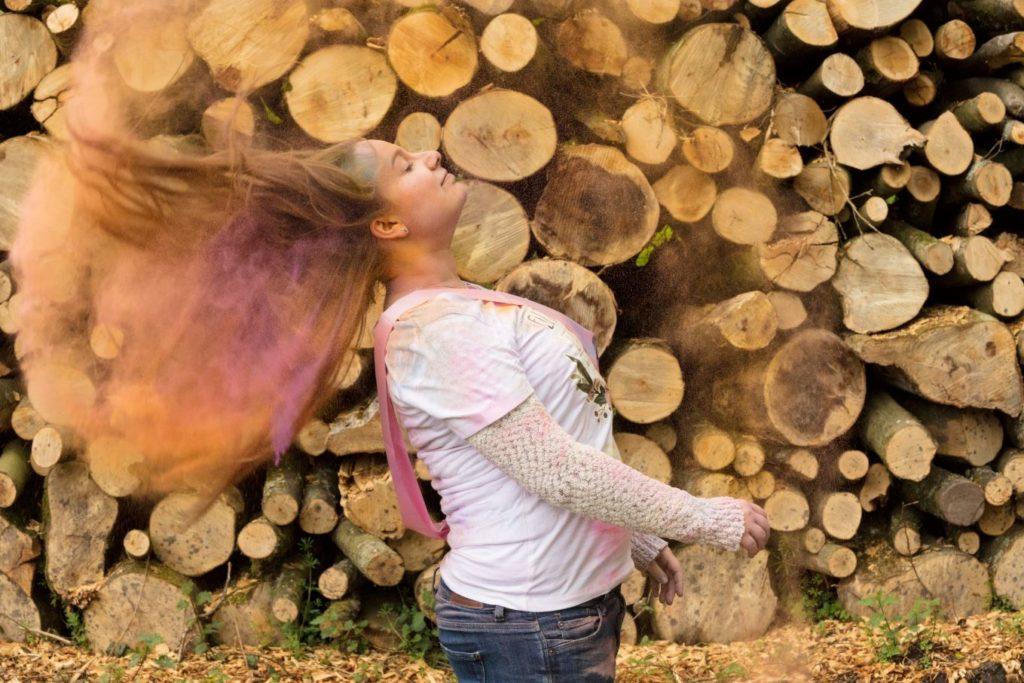 Enterrement de vie de jeune fille en couleurs cheveux