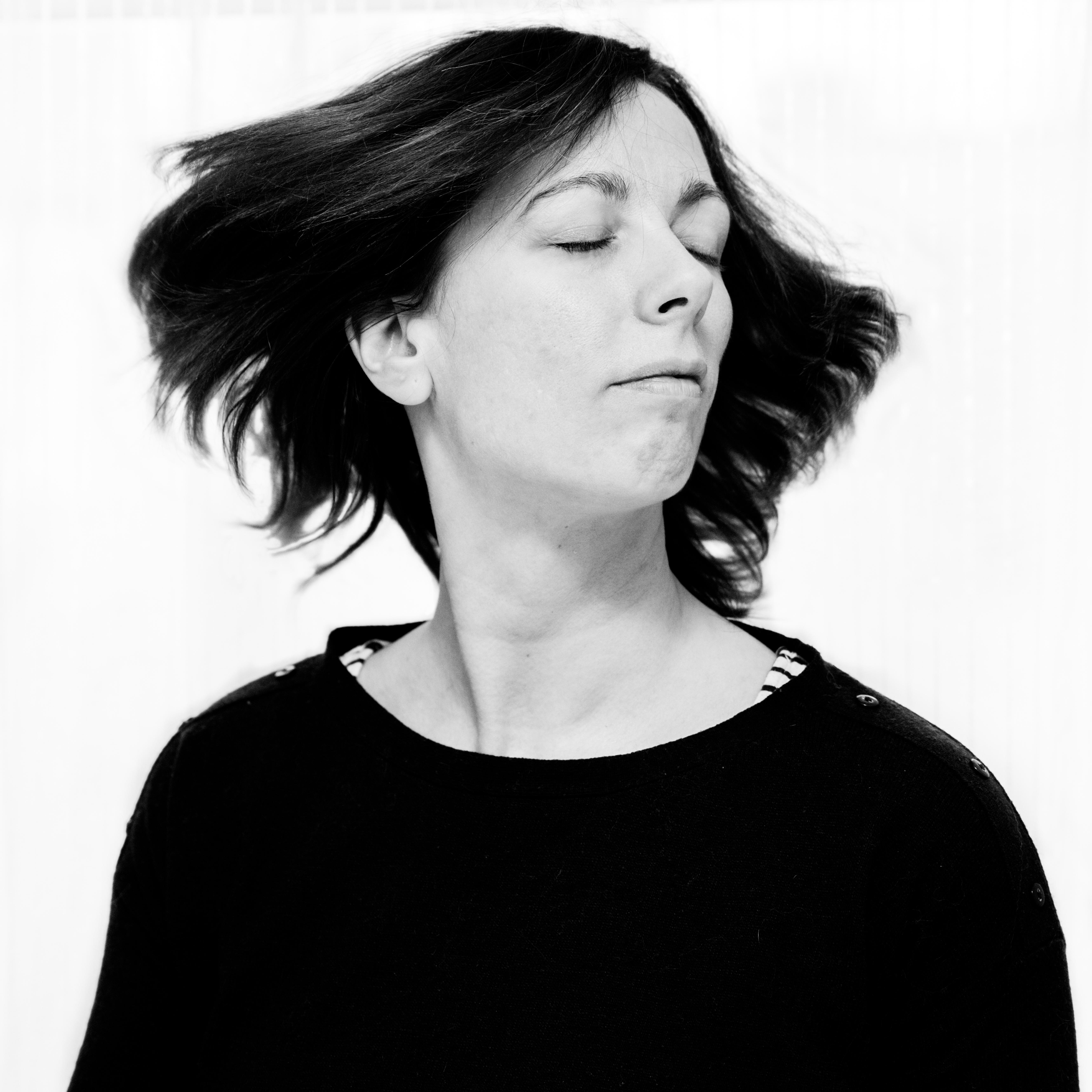 Autoportrait Anne D. Lefèvre Photographe